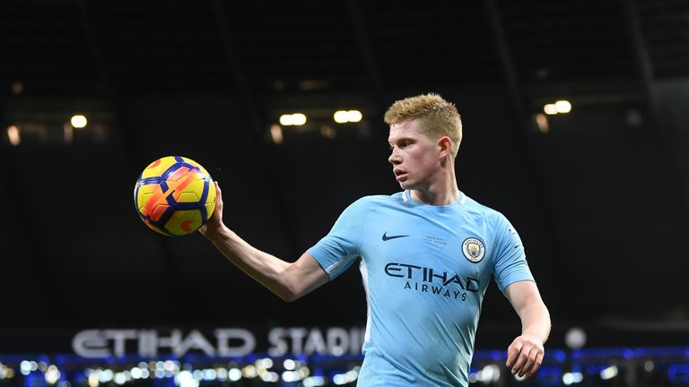 Pep Guardiola believes De Bruyne could challenge for the Ballon d'Or