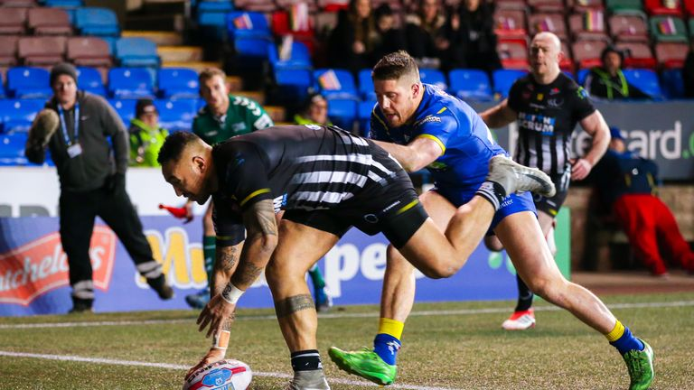 Krisnan Inu scored twice for Widnes, but they struggled to make forward forays for the majority