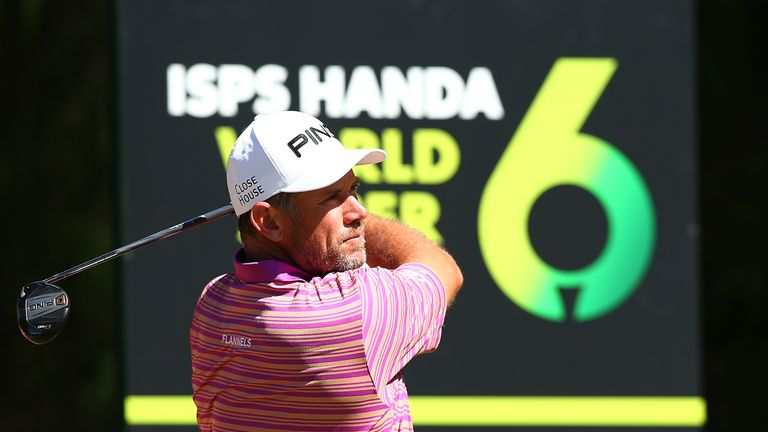 Lee Westwood is one of eight players in the world's top 100 in action this week