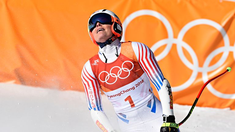 Winter Olympics: Vonn's gold hopes go downhill