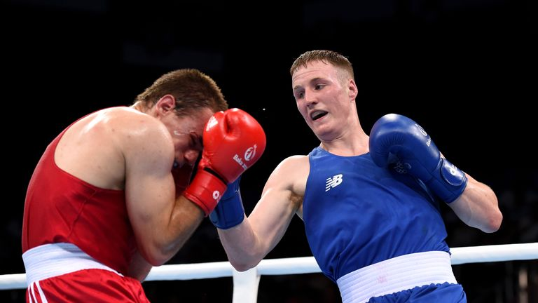 Michael O'Reilly will not be eligible to return to competitive boxing until July 2020