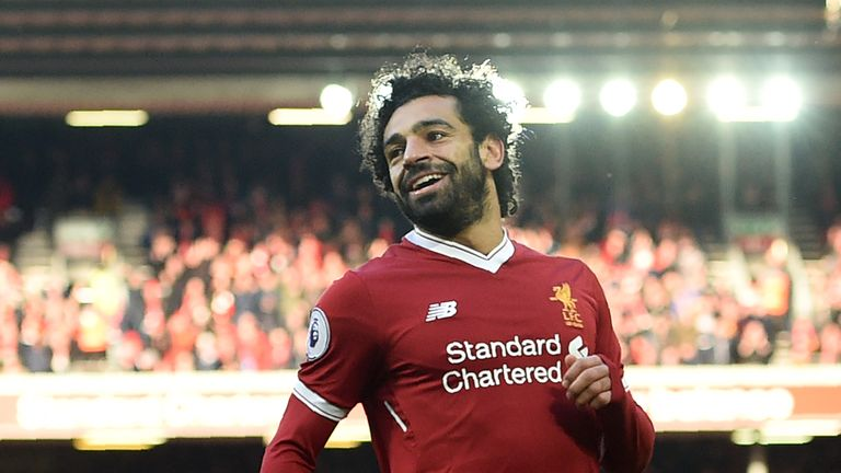 Mohamed Salah is February's Player of the Month