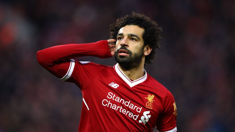 Mohamed Salah scored twice during a 2-2 thriller with Tottenham on Super Sunday