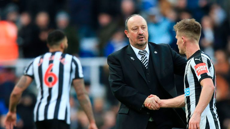 Rafa Benitez was full of praise for his side