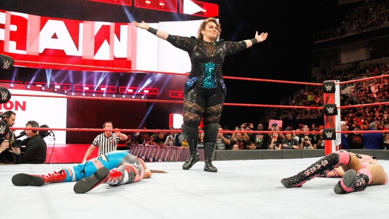 Nia Jax will challenge Asuka's undefeated streak at Elimination Chamber