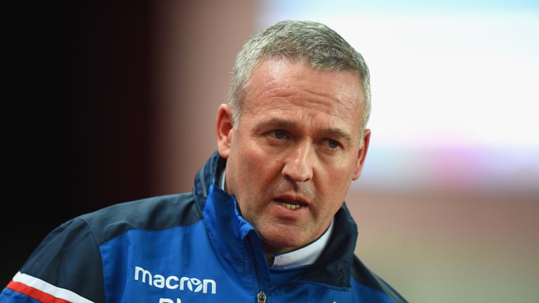 Lambert replaced Mark Hughes at the Bet 365 Stadium in mid-January