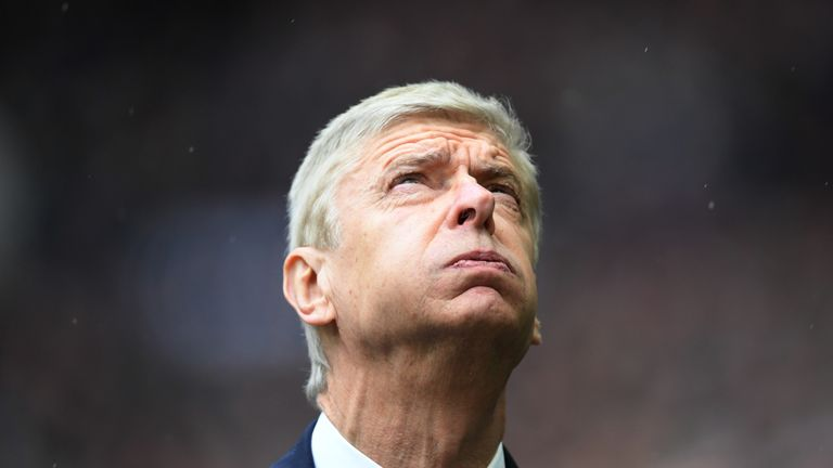 Arsene Wenger did not sign a defender in January