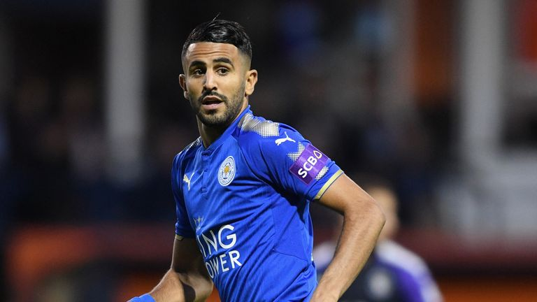 Riyad Mahrez Has Joined Manchester City From Leicester