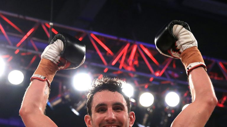 Westgarth won his fight on Saturday but feel ill shortly after the bout
