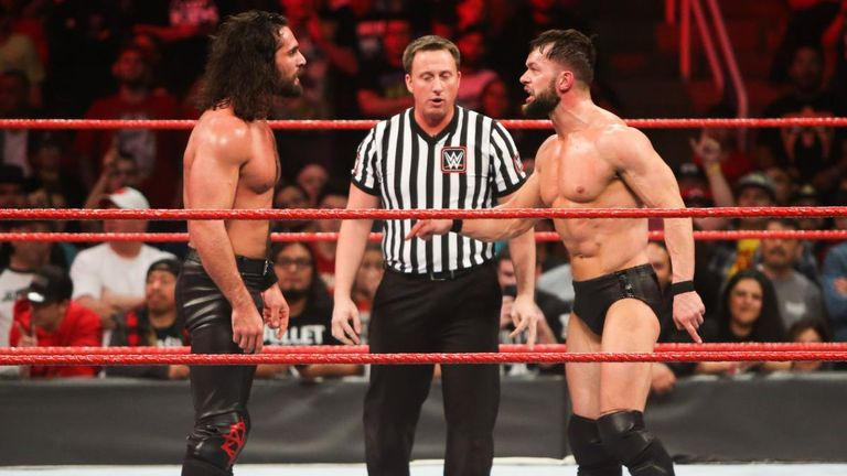 Seth Rollins and FInn Balor booked their Chamber places on Monday Night Raw