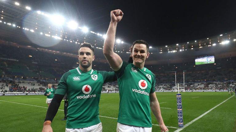 Ireland hero Sexton relieved to avoid more Paris pain