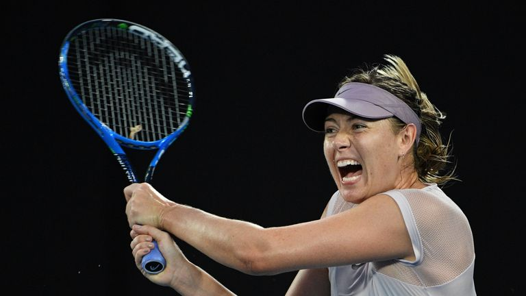 Five-time Grand Slam winner Maria Sharapova suffered a shock defeat in the first round of the Qatar Open