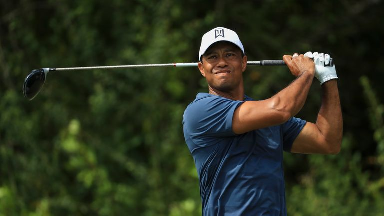 Woods ranked second in driving distance at the Honda Classic