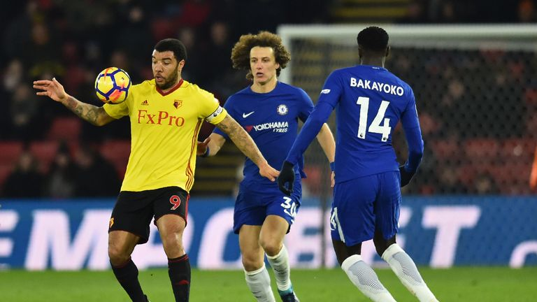 Luiz last featured for Chelsea against Watford on February 5