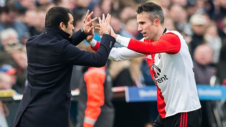 Feyenoord are on course for a spot in the European play-offs