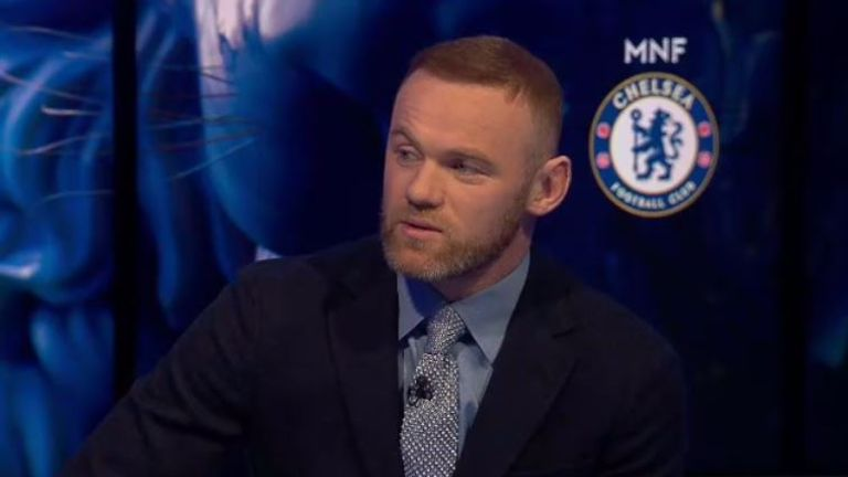Wayne Rooney was a special guest on MNF
