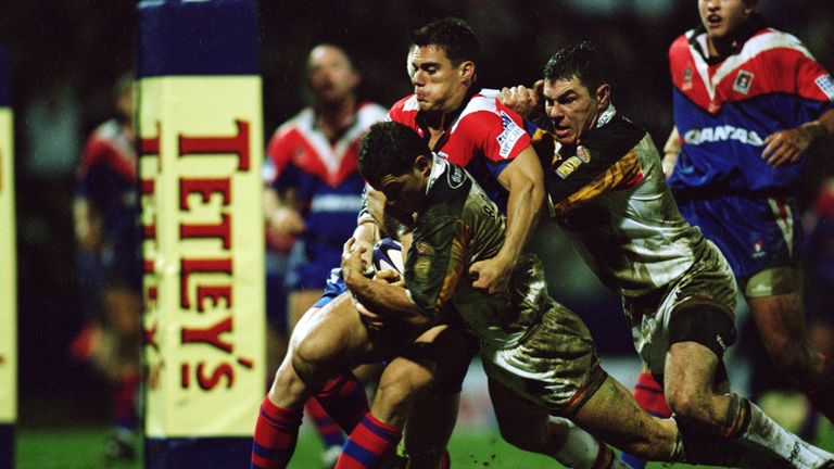A record night for Bradford back in 2002