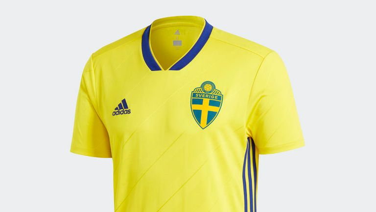 Sweden 2018 World Cup kit