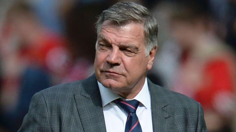 Sam Allardyce has criticised Arsenal's tactics against Manchester City