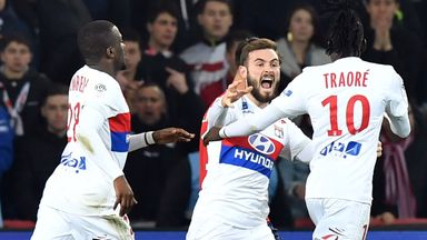 Bertrand Traore scored twice for Lyon as they were held by Lille