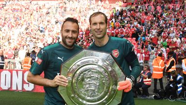 David Ospina (L) has started every Carabao Cup match this term