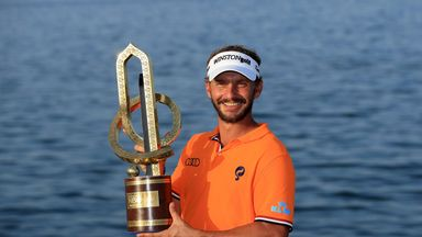 Joost Luiten won the Oman Open by two shots