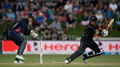 Ross Taylor hit his 18th ODI century to guide New Zealand to victory