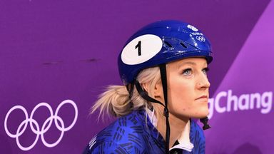 Elise Christie was unable to claim a maiden medal at her third Winter Olympics
