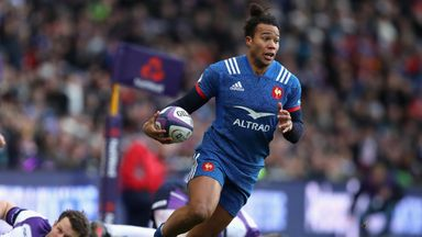 Teddy Thomas has been fined by club side Racing 92