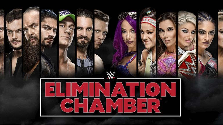 Elimination Chamber is live on Sunshine Golf Box Office on February 25