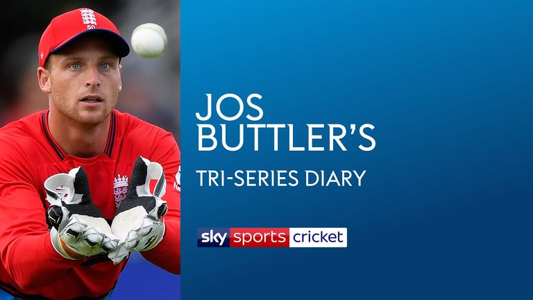 Jos Buttler's T20 Tri-Series Diary
