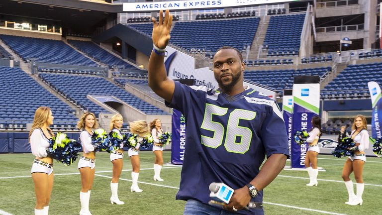 Cliff Avril previously spent four years at the Detriot Lions before moving to Seattle