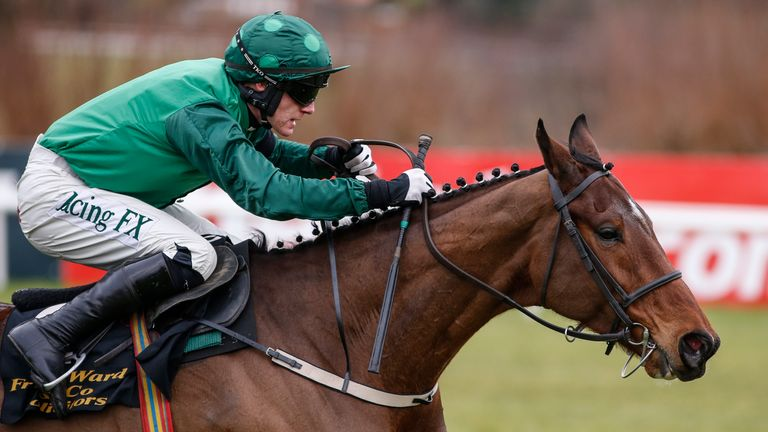 Buveur D'Air successfully defends his Unibet Champion Hurdle Crown