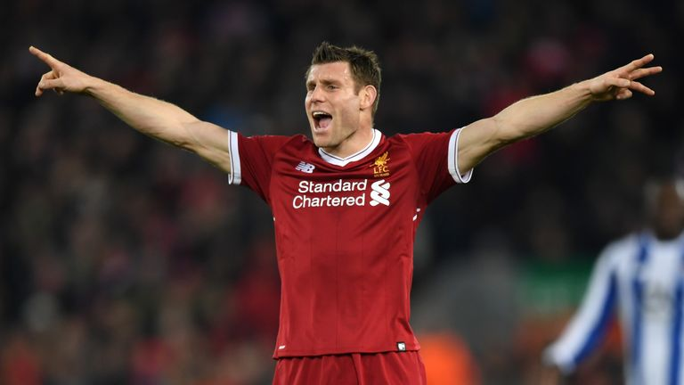 James Milner has been a key player in Liverpool's run to the Champions League final