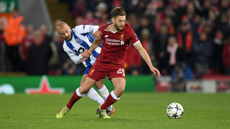 Lallana is also fighting to return before the end of the campaign