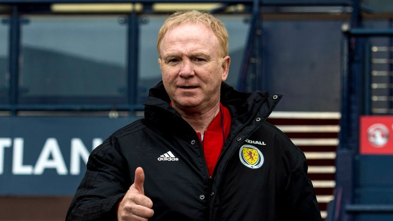 Alex McLeish won seven of his 10 games in charge of Scotland during his first stint in charge