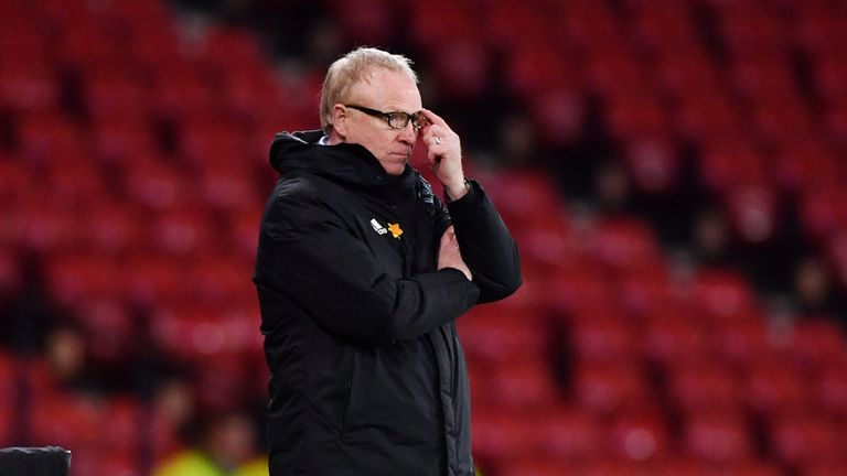 McLeish lost on his return as Scotland manager