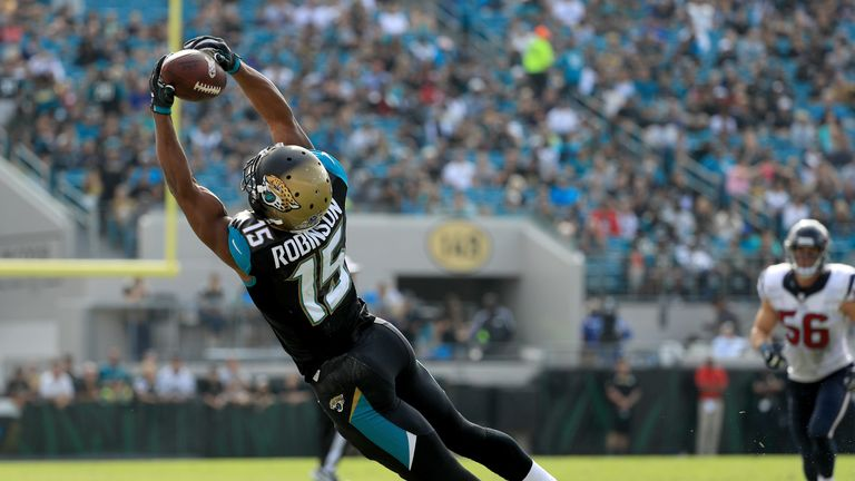 Allen Robinson is leaving the Jacksonville Jaguars and Chicago Bears looks set to be the receivers landing spot