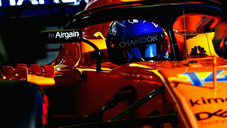 Alonso targets 'top five' in Australia opener