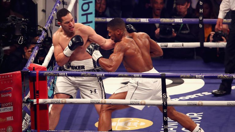 Parker's chin withstood Joshua's punches