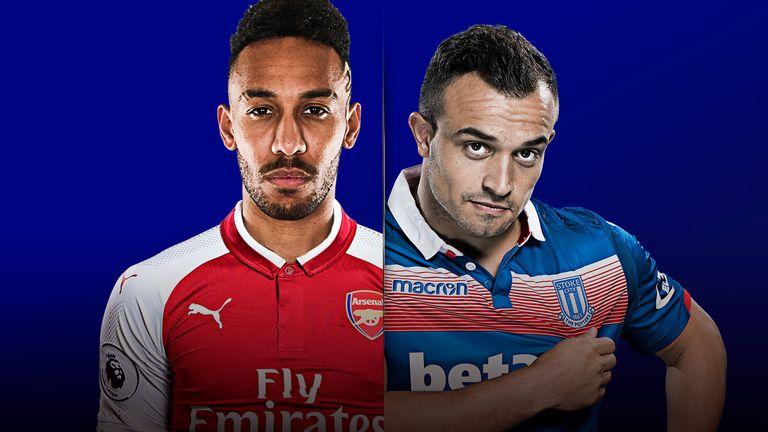 Image result for arsenal vs Stoke City