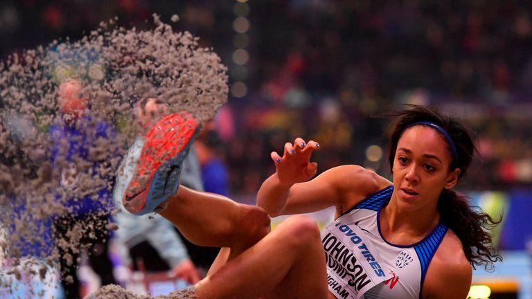 Johnson-Thompson topped the long jump with a jump of 6.5 metres