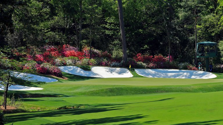 The 13th hole at Augusta is named Azalea