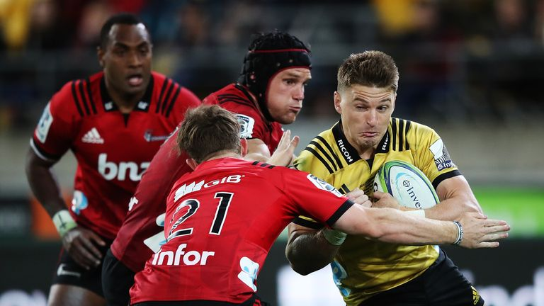 The Hurricanes pulled off a stunning victory over defending Super Rugby champions the Crusaders