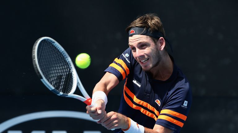 British No. 3 Cameron Norrie makes winning start