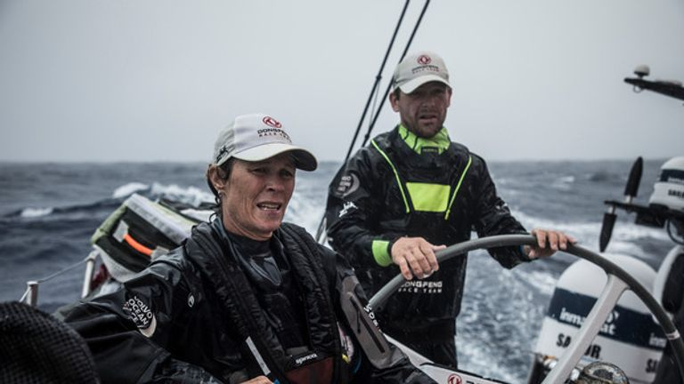 Brouwer was named World Female Sailor of the Year in 1998 (Pic: Martin Keruzore/Volvo Ocean Race)