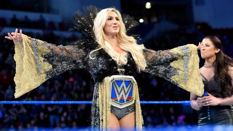 Charlotte Flair has been Smack Down women's champion since Survivor Series in November