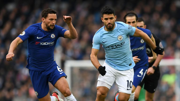 Image result for manchester city 1-0 chelsea march 2018 aguero