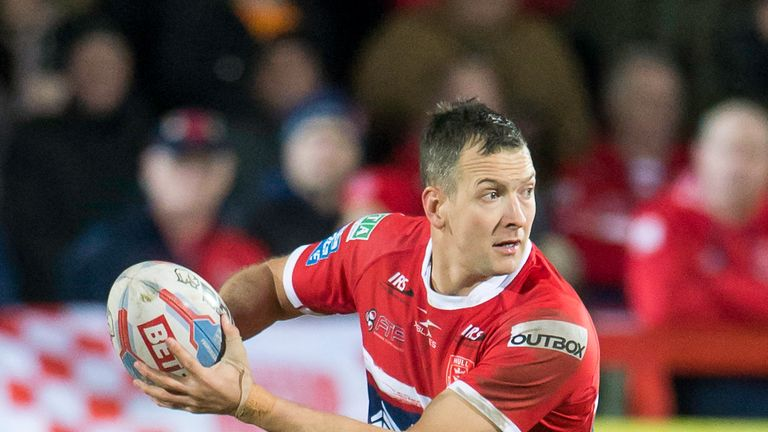 Danny McGuire has been in great form for Hull KR in recent weeks