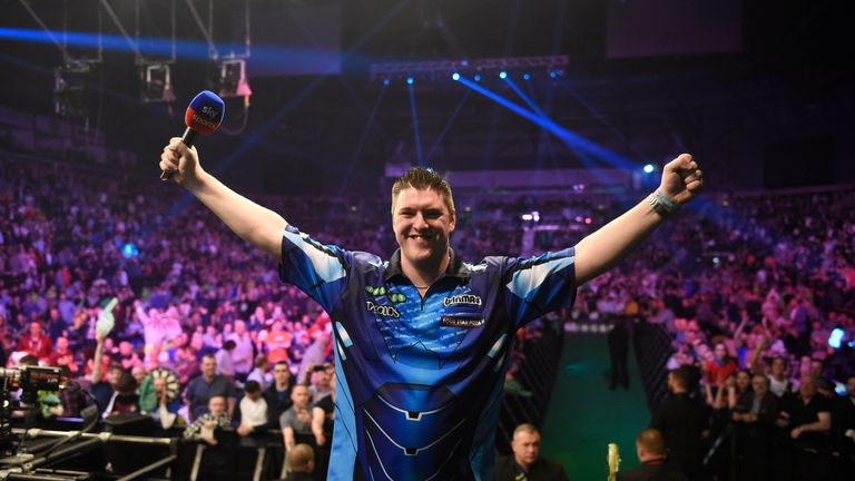 Daryl Gurney still harbours hopes of a top-four finish this season
